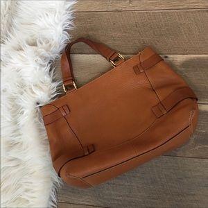 Michael Kors Large tote brown leather handbag